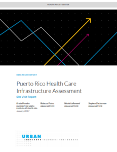 Puerto Rico Health Care Infrastructure Assessment